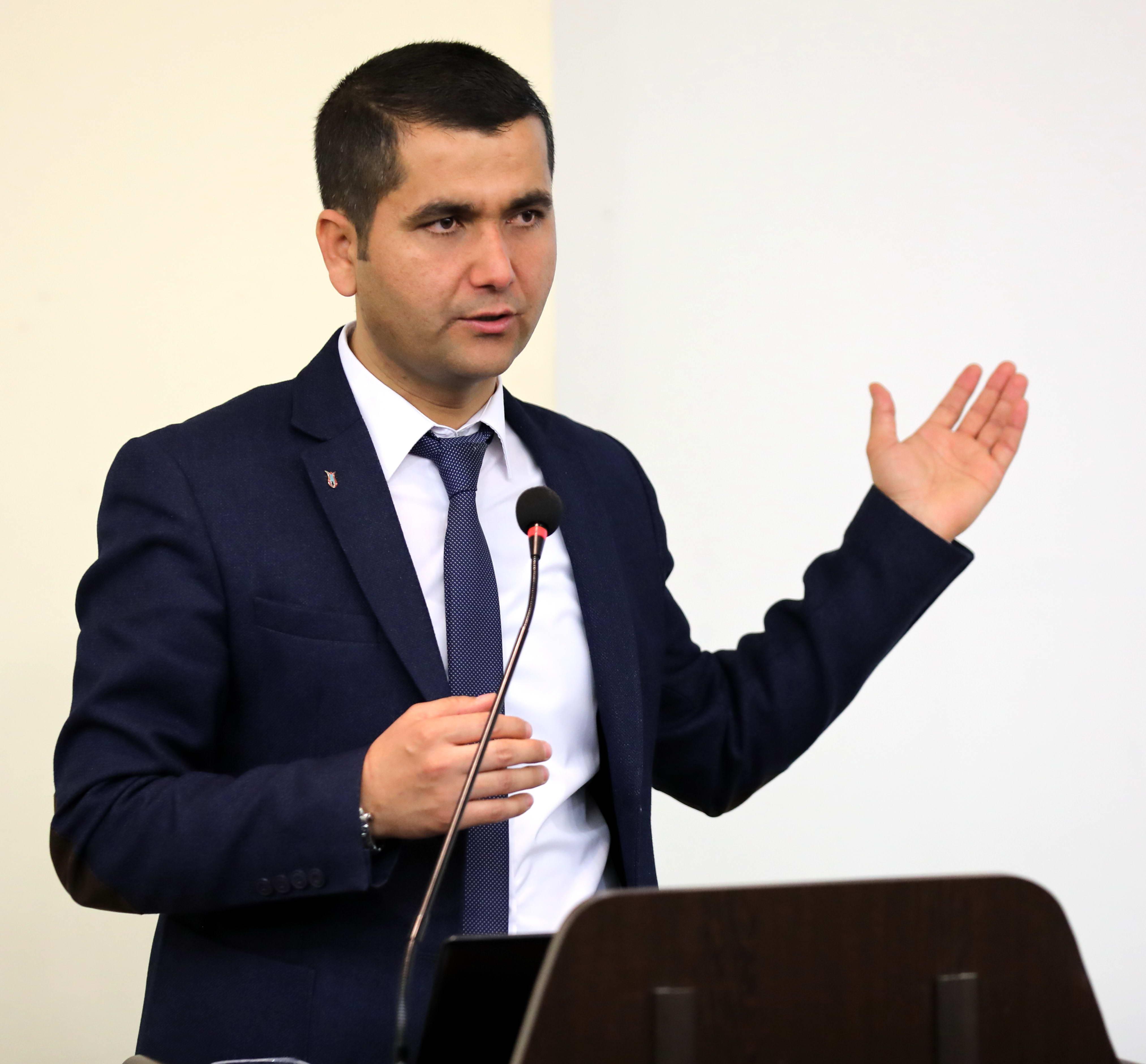 ENGELLİ ÖĞRENCİLERE BİLGİLENDİRME TOPLANTISI - Şeyho Bozkuş