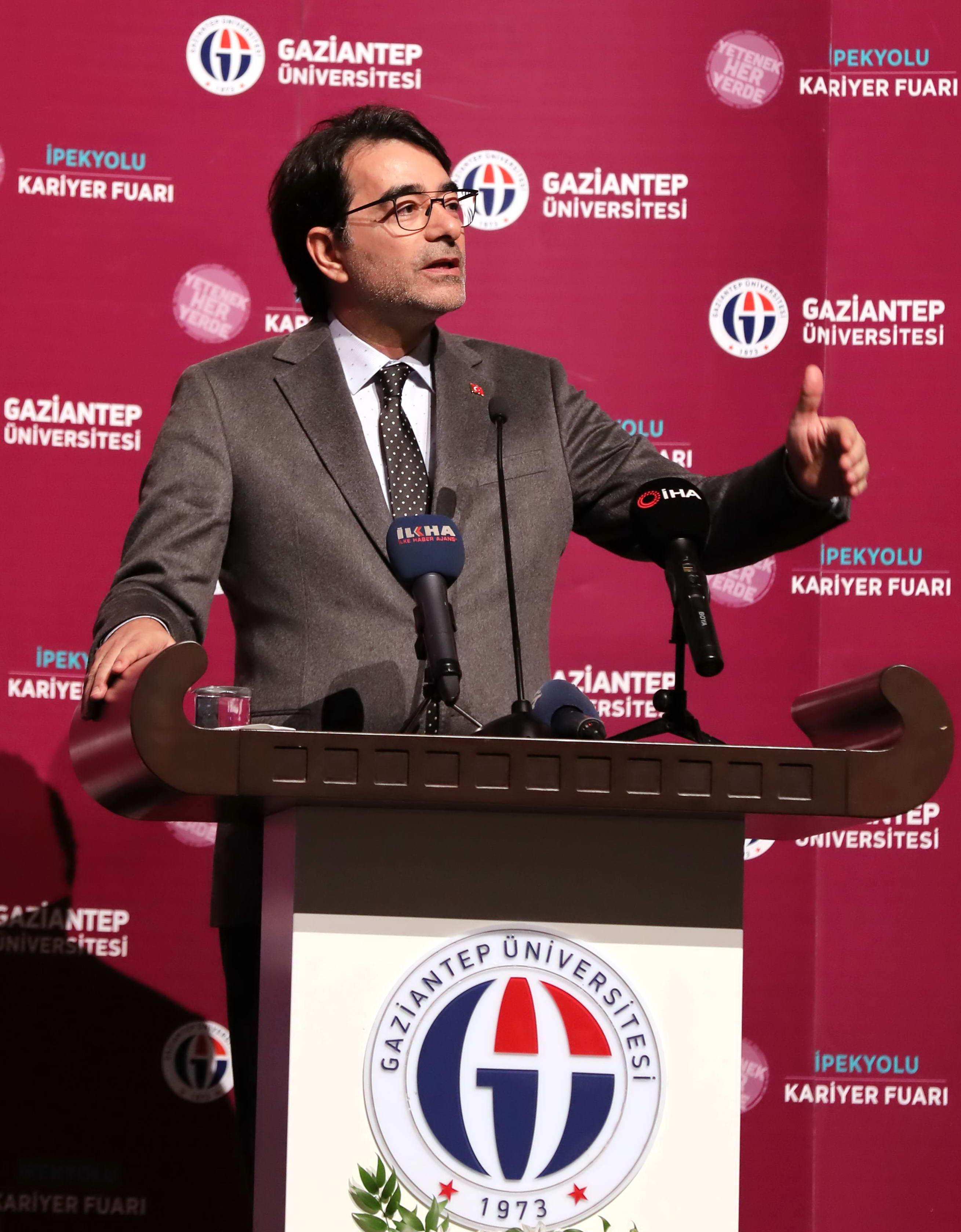 GAÜN'DE BÖLGENİN EN BÜYÜK KARİYER FUARI -  (Doç. Dr. Salim Atay)