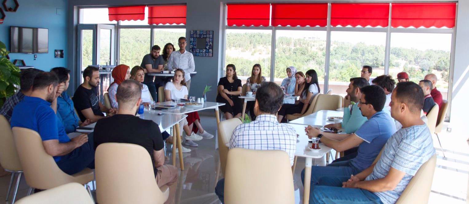 Turkcell Arıkovanı ekibi Gaziantep Teknopark firmaları ile buluştu -  (2)