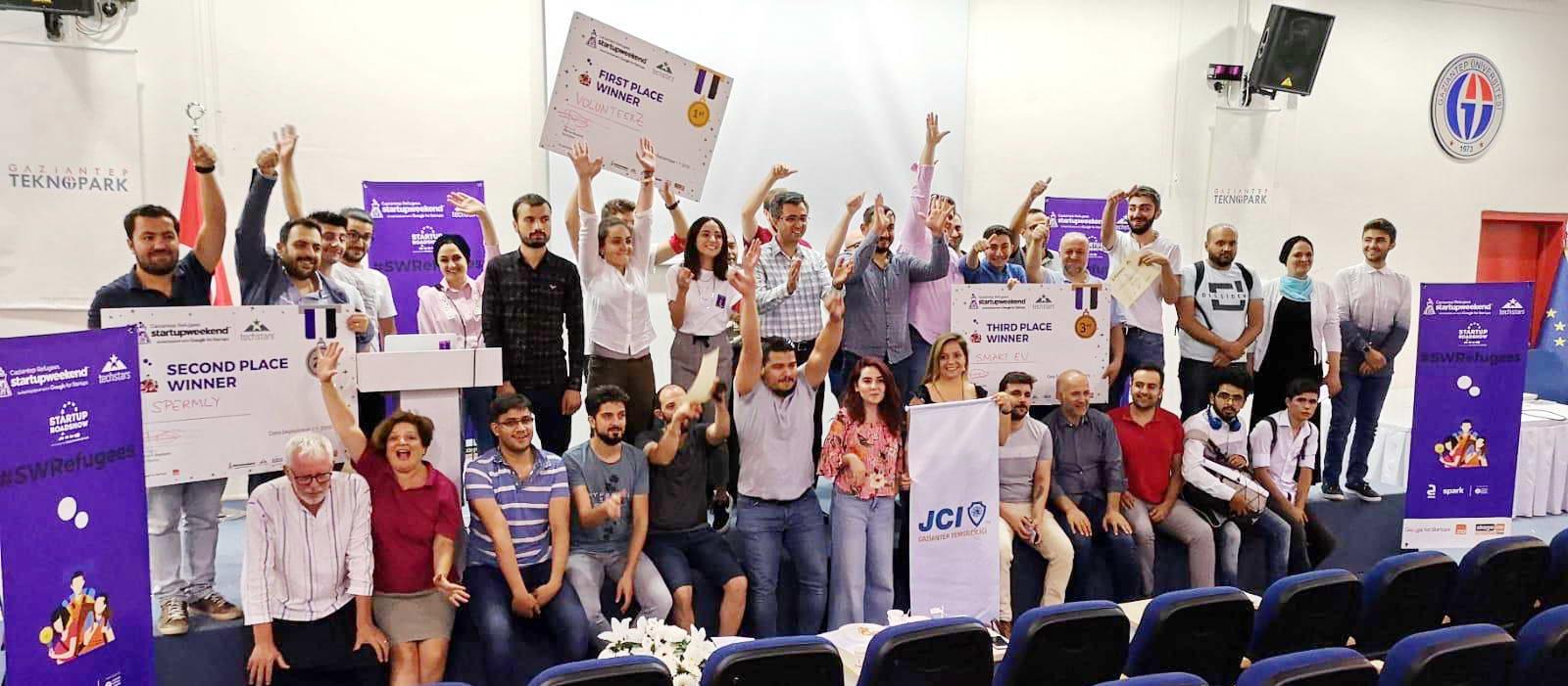 Startup Weekend, Gaziantep TEKNOPARK'ta Gerçekleşti -  (1)