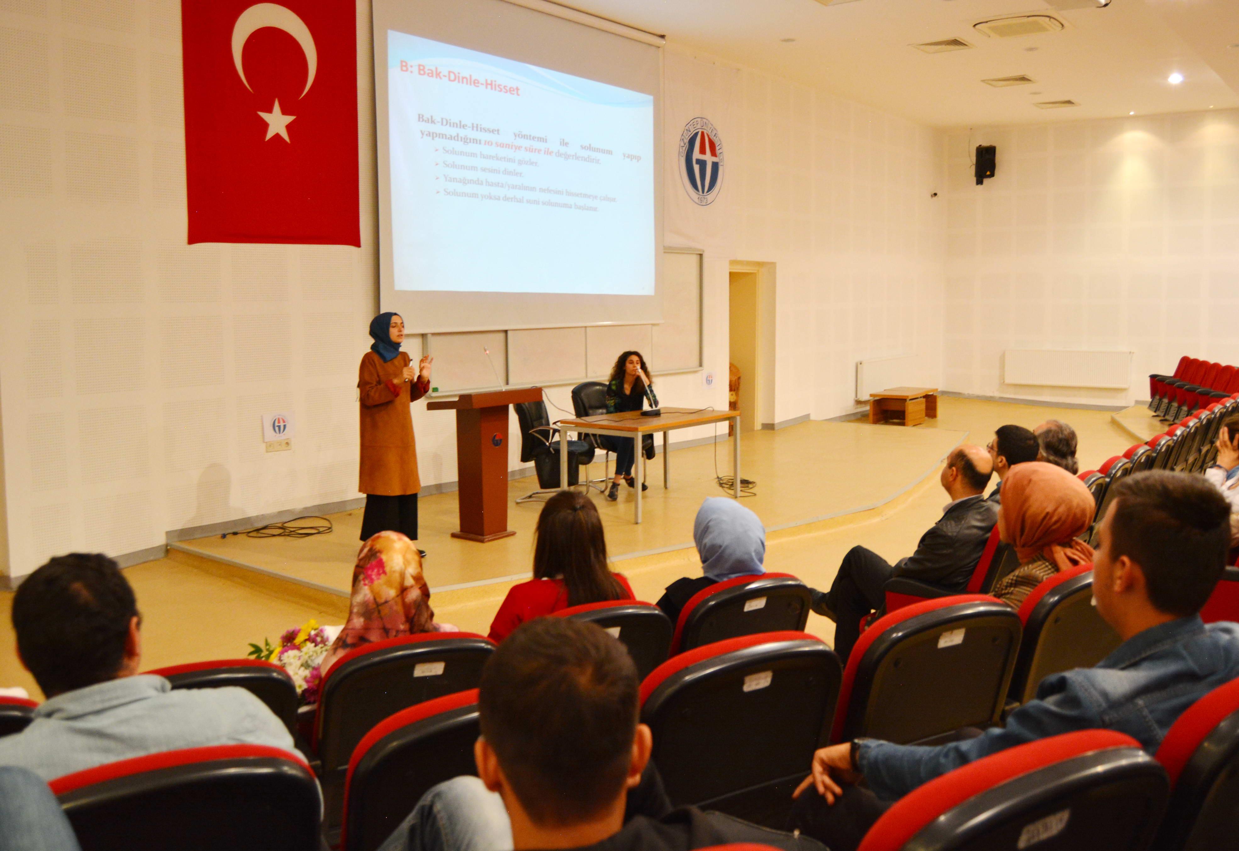 iSLAHİYE İİBF İLKYARDIM SEMİNERİ-1