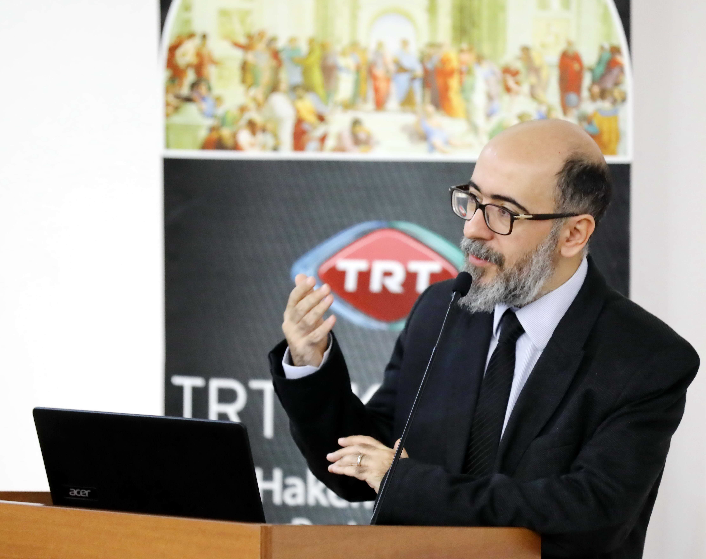 TRT AKADEMİ GAÜN'DE - Prof. Dr. M. Emre Köksalan
