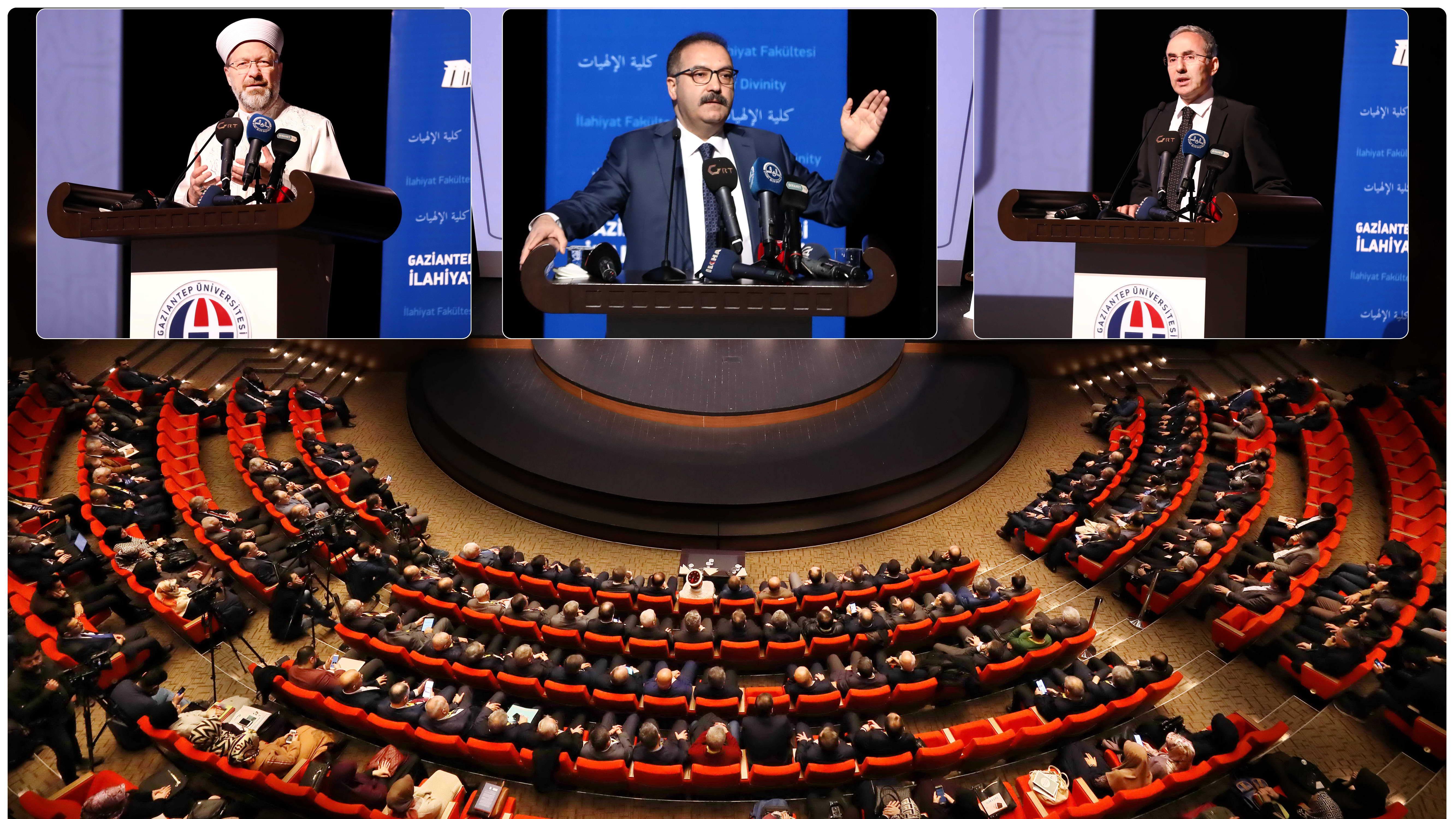 ilahiyat ve İslami İlimler Fakülteleri Dekanlar Toplantısı
