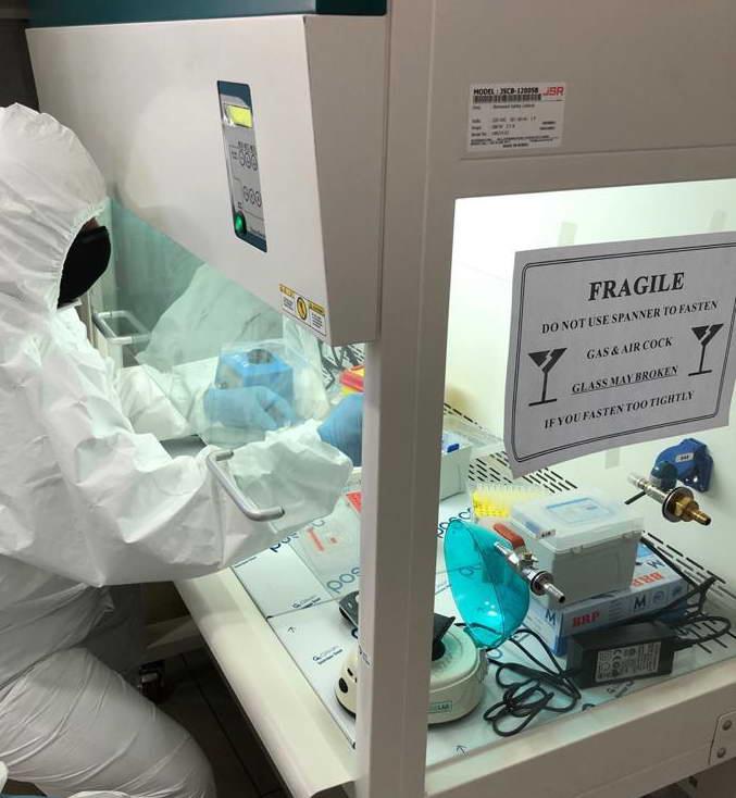 GAÜN'den COVİD 19 tedavisi için yerli ve milli biyoeşdeğer ilaç çalışması -  (5)