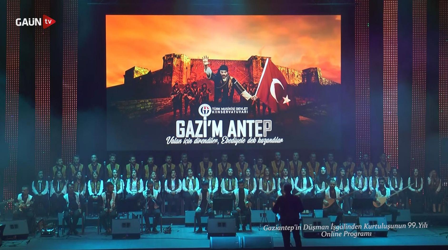 Gazim Antep Türk Halk Müziği Konseri