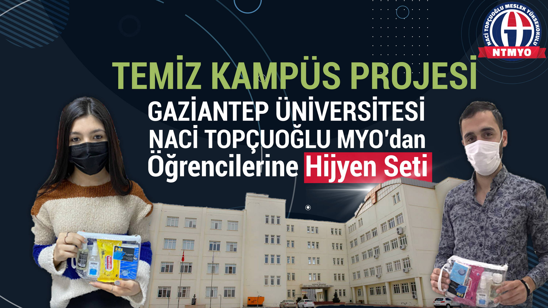 temiz kampüs projesi
